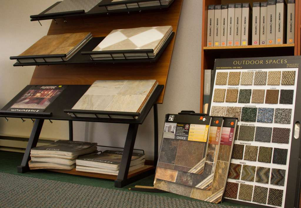 Showroom Flooring Samples