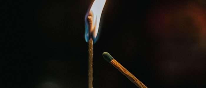 repairing a Burn spot